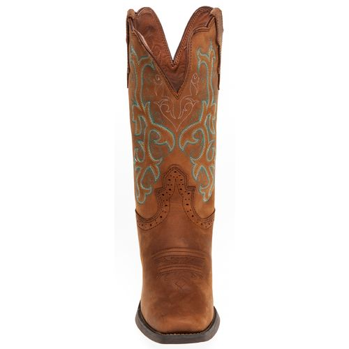 Justin Women's Stampede Sorrel Apache Western Boots - view number 3