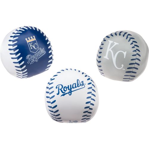 Jarden Sports Licensing Kansas City Royals Triple Play Softee Baseballs 3-Pack