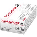 Winchester USA Jacketed Soft Point .44 Remington Magnum 240-Grain Handgun Ammunition - view number 1
