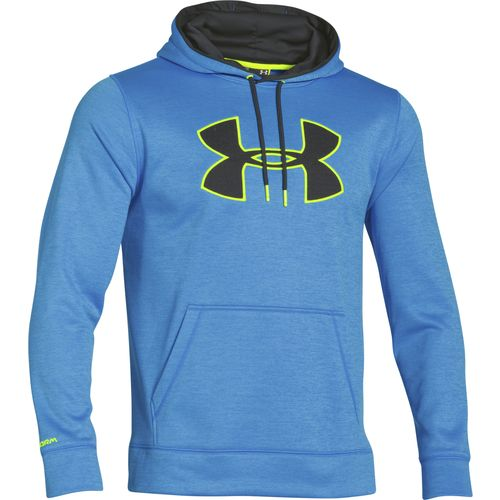 Under Armour  Men s Armour  Fleece Storm Blocks Big Logo Hoodie
