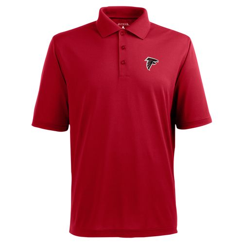 Antigua Men's Atlanta Falcons Piqué Polo