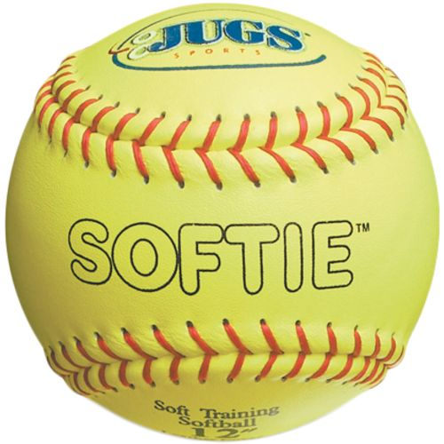 "JUGS Softie 12"" Genuine Leather Softballs 12-Pack"