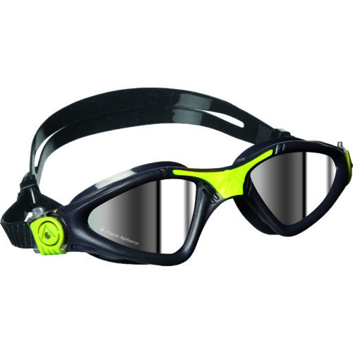 Aqua Sphere Adults' Kayenne Mirrored Swim Goggles