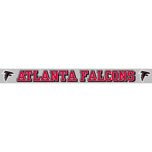 "Stockdale Atlanta Falcons 2"" x 19"" Die-Cut Decal"