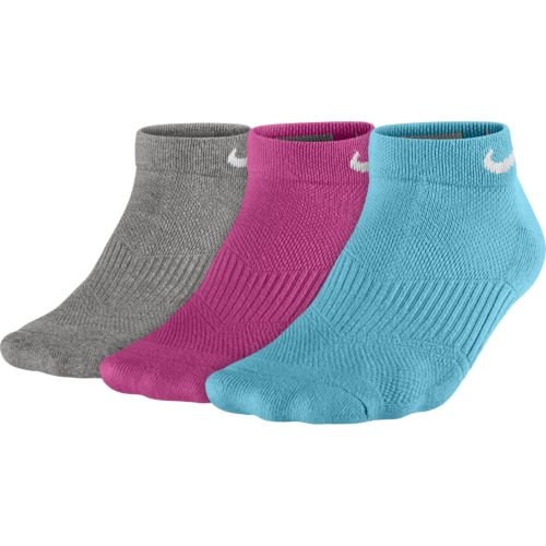 Nike Women's Cotton Cushioned Low-Cut Socks 3-Pair