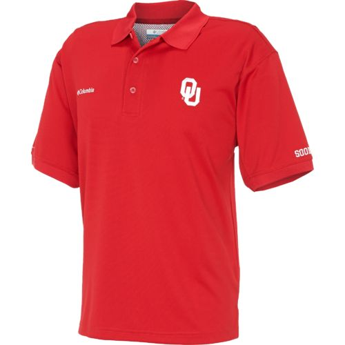 Columbia Sportswear Men's Collegiate Bonehead University of Oklahoma Short Sleeve Shirt