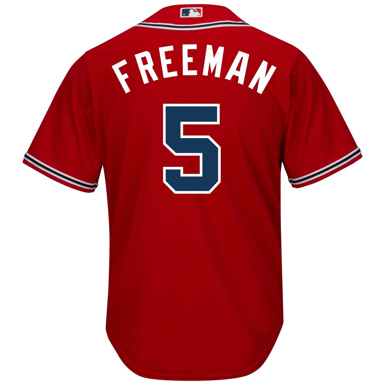 Majestic Men's Atlanta Braves Freddie Freeman #5 Cool