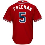Majestic Men's Atlanta Braves Freddie Freeman #5 Cool Base Replica Jersey