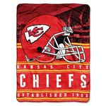 "NFL Kansas City Chiefs Silk Touch 60"" x 80"" Throw"