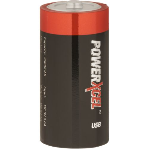 Power Xcel 2600 mAh Battery-Shaped Power Cell