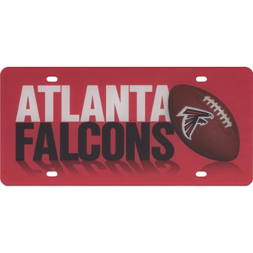 Stockdale Atlanta Falcons Football License Plate