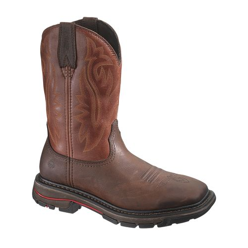 Display product reviews for Wolverine Men's Javelina Western Wellington Work Boots