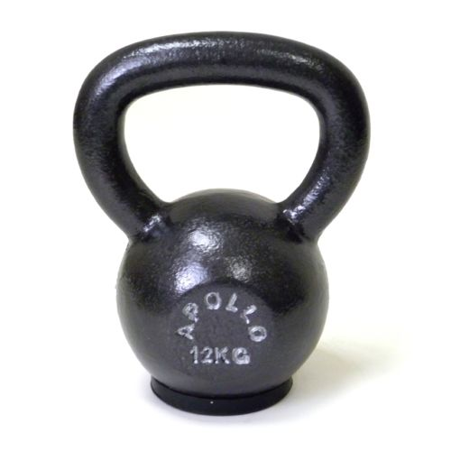 Apollo Athletics Kettlebell with Rubber Pad