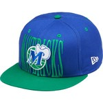 New Era Men's Dallas Mavericks Step Above 9FIFTY Snapback Cap