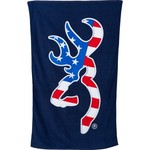 Browning Patriotic Buckmark Towel