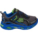 SKECHERS Boys' S Lights Ipox Light-Up Athletic Lifestyle Shoes