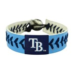 GameWear Tampa Bay Rays Team Color Baseball Bracelet