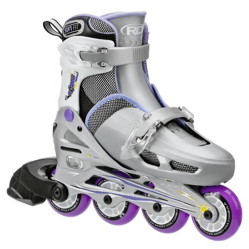 Display product reviews for Roller Derby Girls' Cobra Adjustable In-Line Skates