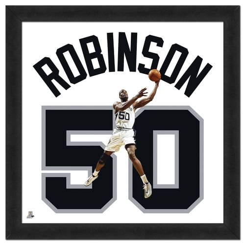 Photo File San Antonio Spurs David Robinson #50 UniFrame 20' x 20' Framed Photo