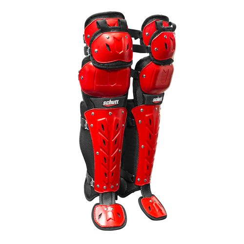 "Schutt Adults' AiR Maxx Scorpion 17"" Triple-Flex Leg Guards"