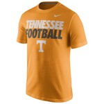 Nike Men's University of Tennessee Short Sleeve Practice T-shirt