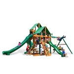Gorilla Playsets™ Great Skye II Swing Set with Timber Shield™ and Deluxe Vinyl Canopy