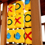 Gorilla Playsets™ Tic-Tac-Toe Spinner Panel