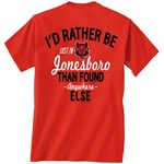 New World Graphics Men's Arkansas State University Lost and Found T-shirt