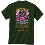 New World Graphics Women's Baylor University Cuter in Team T-shirt