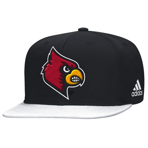 adidas™ Men's University of Louisville Sideline Flat Brim Snapback Cap