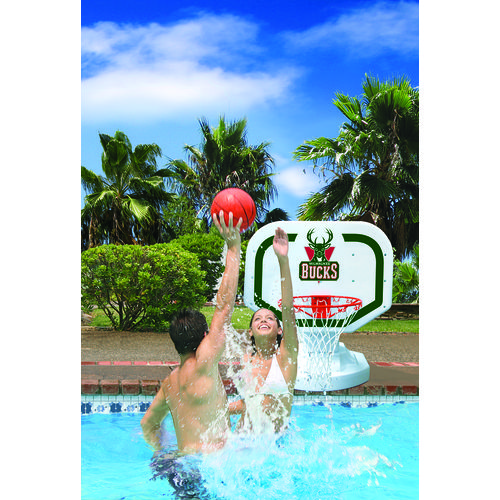 Poolmaster® Milwaukee Bucks Competition Style Poolside Basketball Game - view number 2