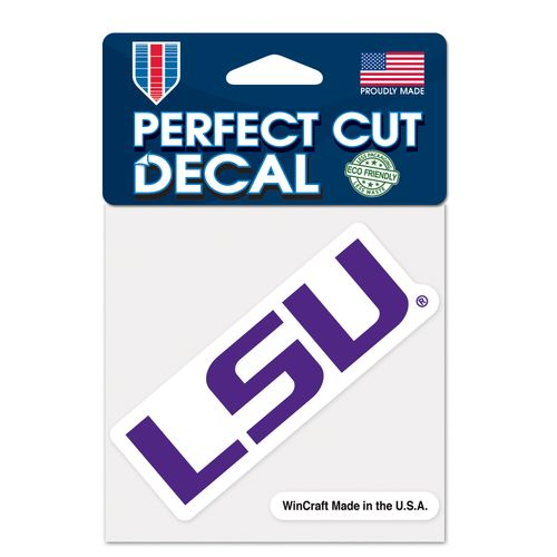 WinCraft Louisiana State University Perfect Cut Decal