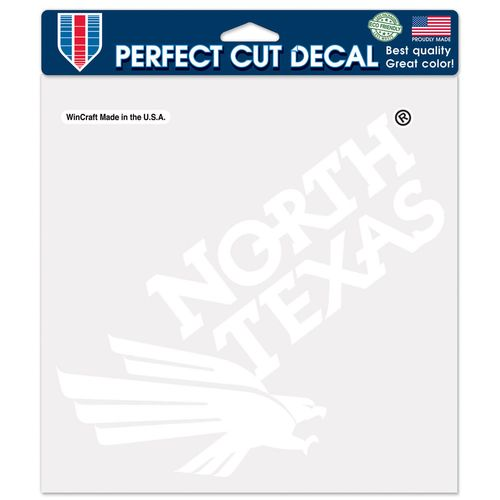 WinCraft University of North Texas Perfect Cut Decal