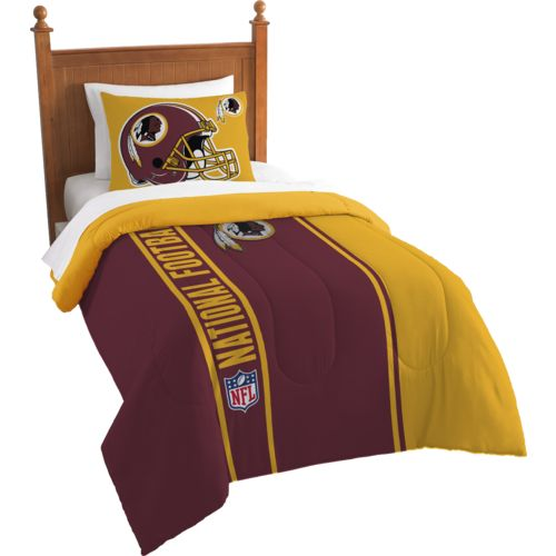 The Northwest Company Washington Redskins Twin Comforter and Sham Set - view number 1
