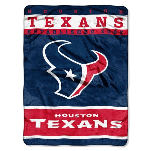 The Northwest Company Houston Texans 12th Man Raschel Throw