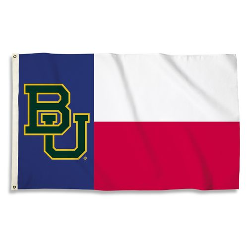 BSI Baylor University Texas Motif Flag - view number 1