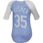 Majestic Women's Kansas City Royals Eric Hosmer 3/4-Length Raglan T-shirt