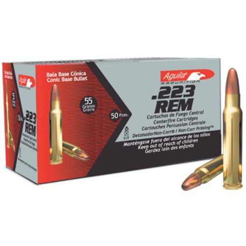 Aguila Ammunition Full Metal Jacket .223 Remington 55-Grain Centerfire Rifle Ammunition - view number 1