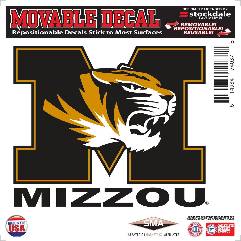 "Stockdale University of Missouri 6"" x 6"" Decal"