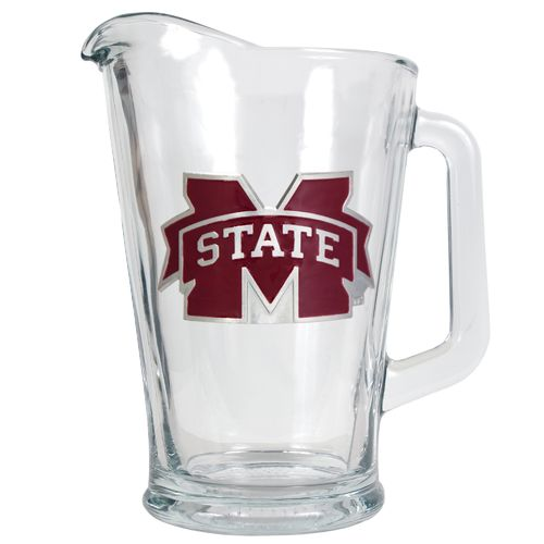 Great American Products Mississippi State University 1/2-Gallon Glass Pitcher