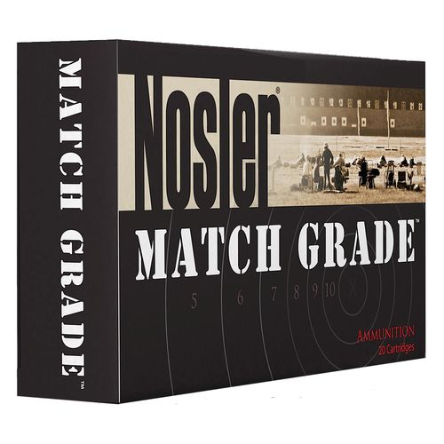 Display product reviews for Nosler Match Grade .300 AAC Blackout/Whisper 7.62 x 35mm 125-Grain Centerfire Rifle Ammunition