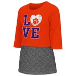 Colosseum Athletics Toddler Girls' Clemson University Glitter Dress