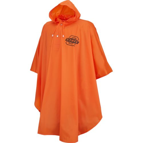 Storm Duds Men's Oklahoma State University Slicker Heavy Duty PVC Poncho - view number 1
