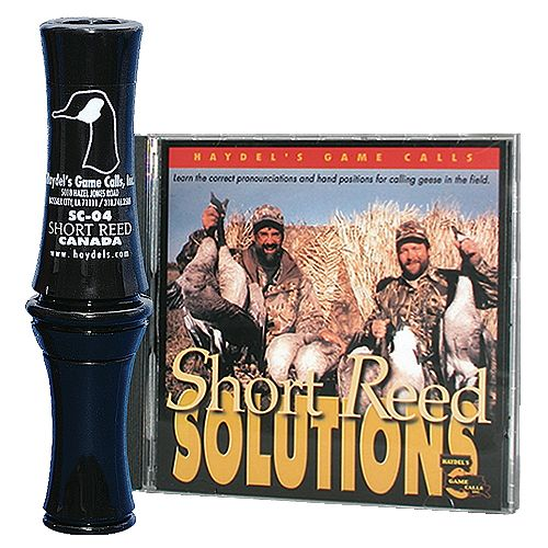 Haydel's Game Calls SC04K Short Reed Canada Goose Call Kit
