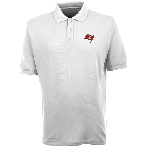 Antigua Men's Tampa Bay Buccaneers Elite Short Sleeve Polo Shirt - view number 1