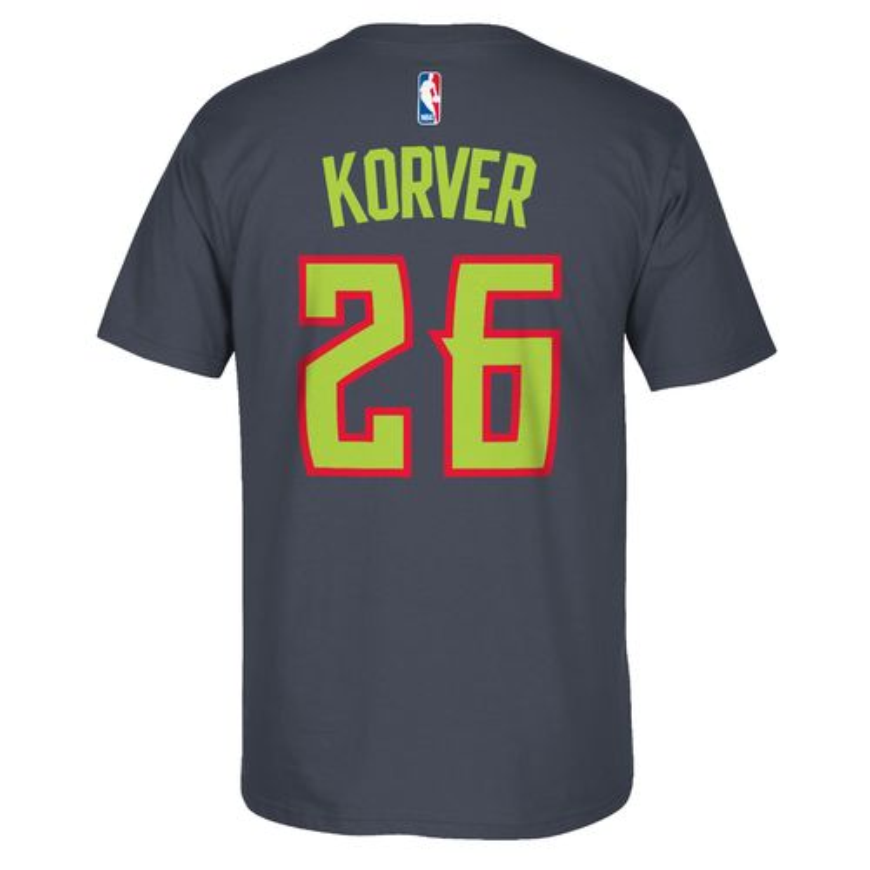 adidas™ Men's Atlanta Hawks Kyle Korver #26 7