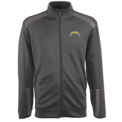 Antigua Men's San Diego Chargers Flight Jacket