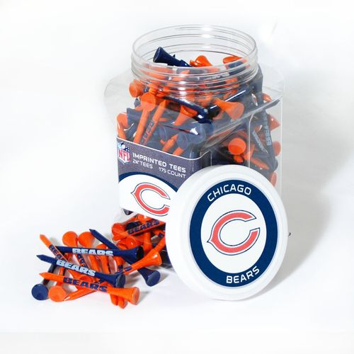 Team Golf Chicago Bears Tees 175-Pack