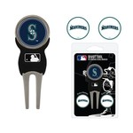 Team Golf Seattle Mariners Divot Tool and Ball Marker Set - view number 1