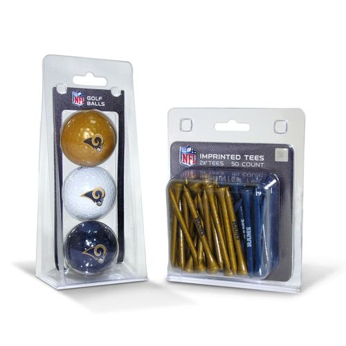 Team Golf St. Louis Rams Golf Balls and Tees Set